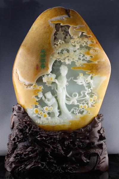 中国民间美术非物质文化遗产26——扬州玉雕 - hubao.an - hubao.an的博客