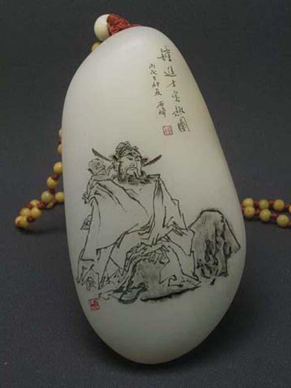 陶瓷浅雕图案简单图片